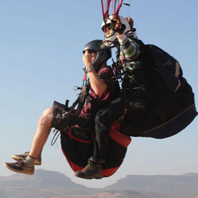 Paragliding in Kamshet (Instructional Tandem)