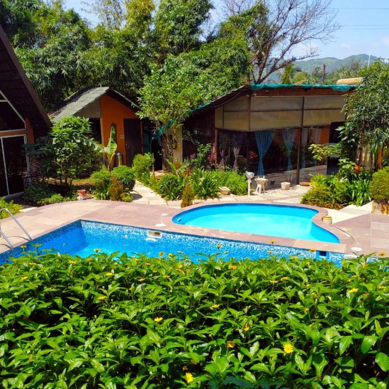 Pool Side Villa at Rumourss Sky Villa and Resort Lonavala