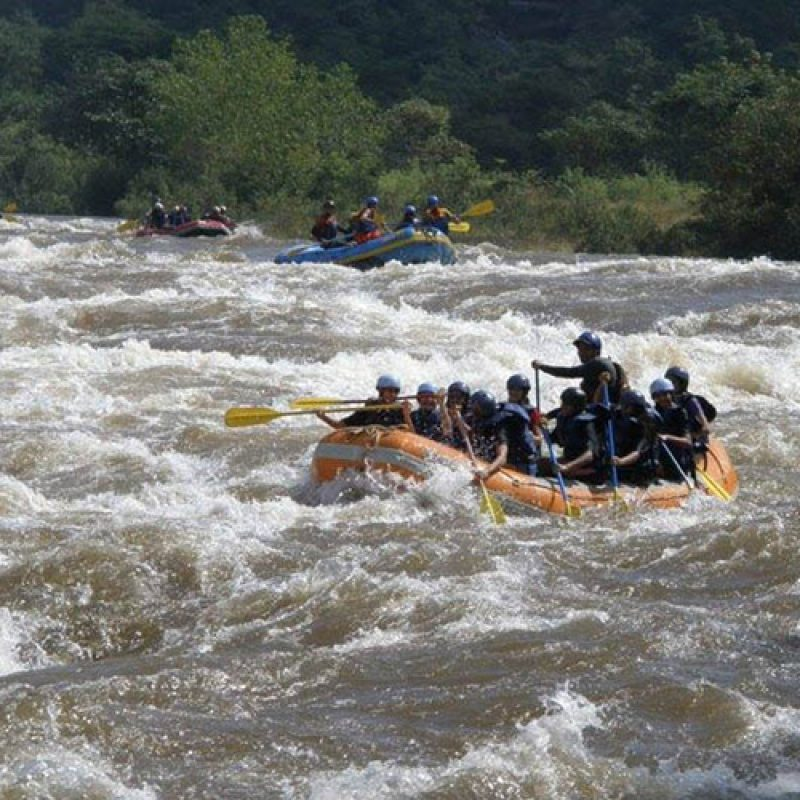 River Rafting + Kayaking + River Crossing + Zip Line + Bumper Ride + Banana Boat Ride + Lunch in Kolad