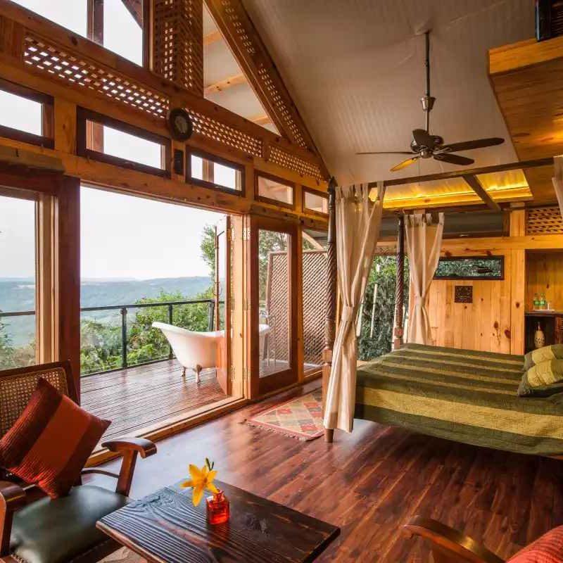 Sunset Machan @ The Machan Treehouse Resort, Lonavala