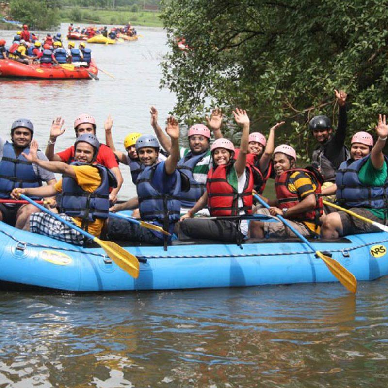 White Water Rafting on Kundalika River, Kolad